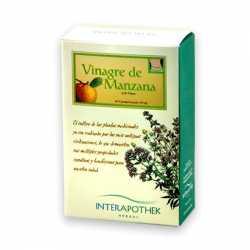 INTERAPOTHEK VINAGRE DE MANZANA 60 CAPSULAS 360 MG