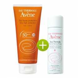 Avene Leche Locion Muy Alta Proteccion 50 Spf Y Agua Termal De Avene 50 ml