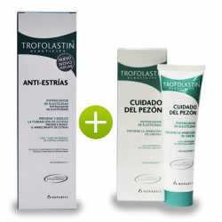 TROFOLASTIN KIT 7 ANTIESTRIAS 250 ML + CUIDADO PEZON 50 ML + BOLSO