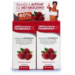 ARKOCETONAS DE FRAMBUESA 300 30 CAPS 40% DESCUENTO 2º ENVASE
