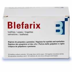 BLEFARIX 50 TOALLITAS PÁRPADOS Y PESTAÑAS