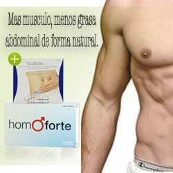HOMOFORTE 15 CAPSULAS + QUEMALINE 24 COMPRIMIDOS