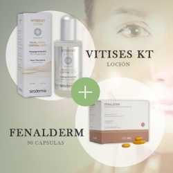 Tratamiento Vitíligo Vitises KT + Fenalderm
