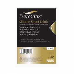 Dernatix láminas de silicona Fabric 4X13 cm