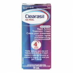 Clearasil Ultra Crema Limpiadora Exfoliante 150 ml