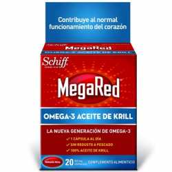 Megared 500 mg 20 cápsulas