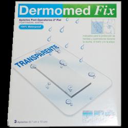 Dermomed Fix Segunda Piel Apósito Esteril 15 cm x 9.7 cm 3 unidades