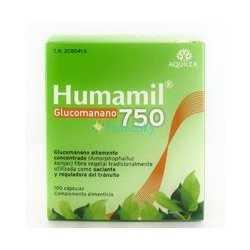 Aquilea Humamil 750 mg 90 Cápsulas