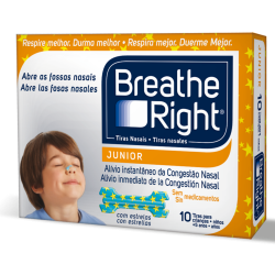 Breathe Right Tira Nasal Junior 10Uds