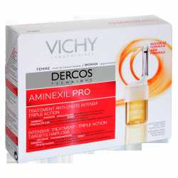 Dercos Aminexil Mujer 18 Ampollas