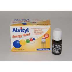Alvityl Energy Real 8 Frascos X 10 Ml