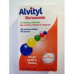 Alvityl Efervescente 30 Comprimidos