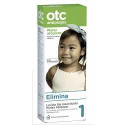 Otc 1 Loción antipiojos sin insecticida para pieles atópicas