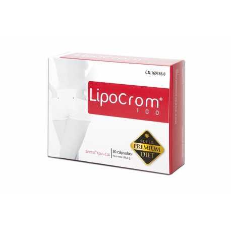 Lipocrom 100 Nutricion Center 20 cápsulas