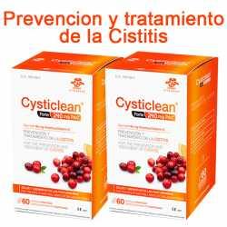 Vita Green Cysticlean Forte 240 Mg 60 capsulas Pack Ahorro 2 Uds