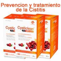 Vita Green Cysticlean Forte 240 mg 60 cápsulas Pack Ahorro 3 uds