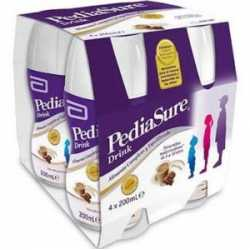 Pediasure triplesure sabor chocolate 4x200 ml