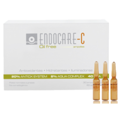 Endocare C Oil free 30 ampollas + 3 ampollas de regalo