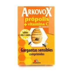 Arkovox Propolis + Vitamina C 20 Comprimidos Miel Y Limon
