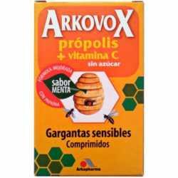 Arkovox Propolis + Vitamina C 20 Comprimidos Sabor Menta