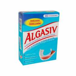 Algasiv Almohadilla Inferior 30 uds + Colutorio ml