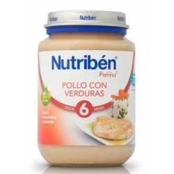 Nutriben Potito Junior Pollo Con Verduras 200 gr