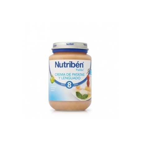 Nutriben Potito Junior Lenguado con patatas 200 gr