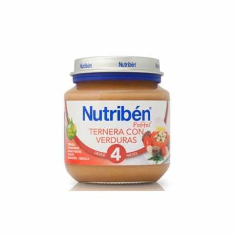 Nutriben Potito Bebe Ternera Verduras 130 gr