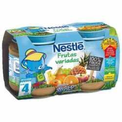 Potito Nestle Tarros 130 gr Fruta variada 2 uds