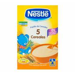 Nestle 5 Cereales 600 gr