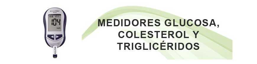Medidores Colesterol y Triglicéridos